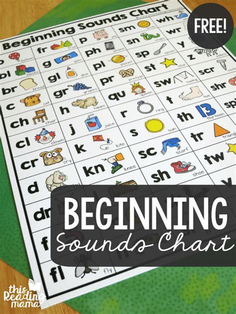 Beginning Sounds Chart