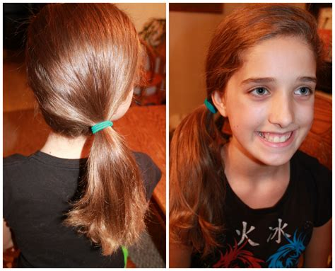 school cute  easy hairstyles side pony