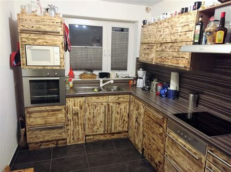 pallet wood kitchen cabinets 20 ideas for pallets repurposing wood pallet furniture 291 | pallets made kitchen cabinets