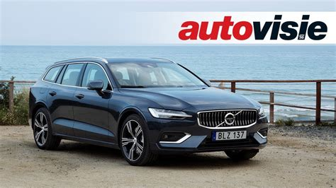 Volvo V60 (2018)  Test  Autovisie Tv Youtube