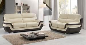 Canap RODRIGUE Salon 32 Cuir Design