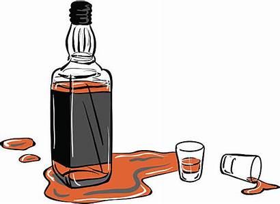 Bottle Shot Whisky Glasses Whiskey Vector Glass