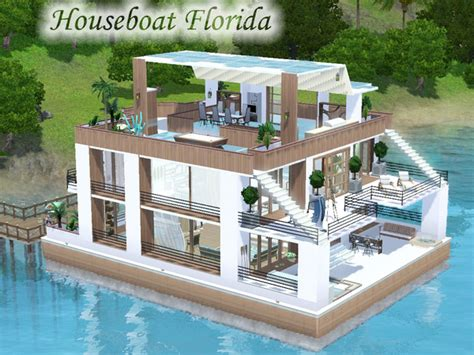 Houseboats Sims 3 by Houseboat Florida The Sims 3 Simsdomination