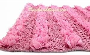 Tapis Rose Clair : tapis bain corfou rose clair 60cm x 90cm marchand de tapis ~ Teatrodelosmanantiales.com Idées de Décoration