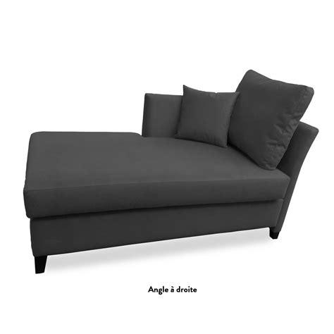 canapé convertible gris anthracite méridienne convertible lyon meubles et atmosphère