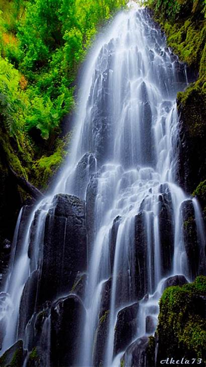 Nature Animated Waterfall Gifs Animations Natural Water
