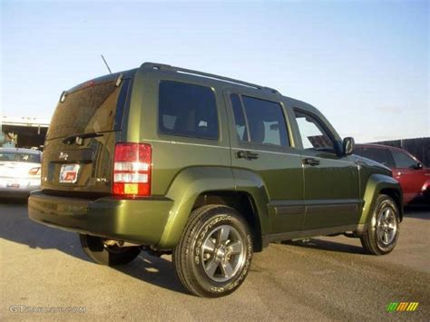green jeep liberty 2008 2008 jeep green metallic jeep liberty sport 4x4 15919605