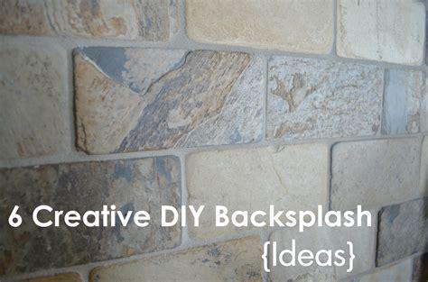 Homemade Backsplash Ideas : Diy Backsplash Ideas For Your Kitchen And