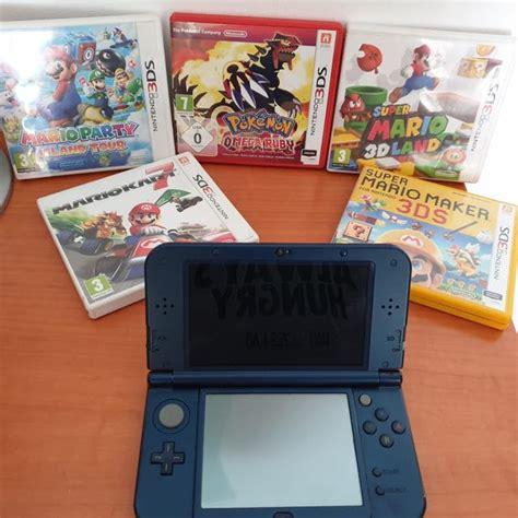Muy entretenido para estas navidades. New Nintendo 3DS XL más juegos de segunda mano por 145 € en Terrassa en WALLAPOP