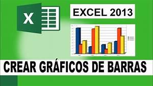 Gr U00e1ficos Excel 2013  Como Crear Un Gr U00e1fico De Columnas Y