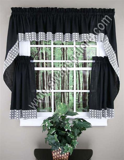 swag kitchen curtains salem kitchen curtains lorraine jabot swag