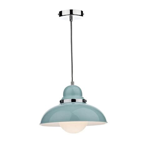 hicks and hicks dynamic kitchen pendant light blue hicks