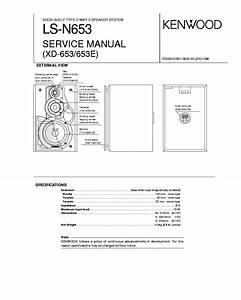 Kenwood Service Manual~KX-40 Cassette//Tape Deck//Player~Original Repair