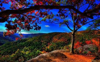 Autumn Landscape Fall Desktop Wallpapers Summer Nature