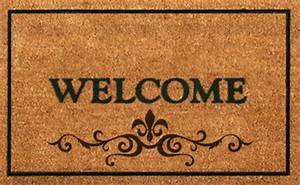 Second Life Marketplace - Welcome Mat Brown
