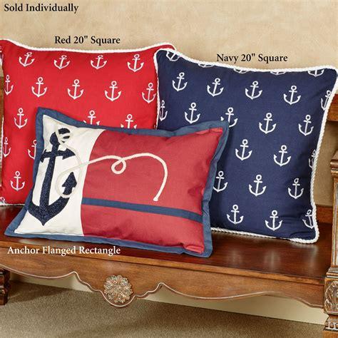 Anchor Nautical Decorative Pillows