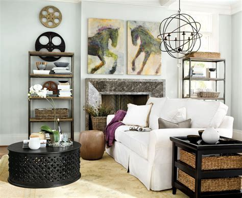 Orb Chandelier Living Room   Contemporary   Living Room