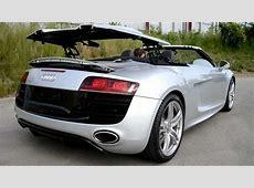 Audi R8 V10 Spyder revving inside and outside + bonus roof