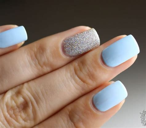 light blue nails top 50 ideas of light blue nail designes