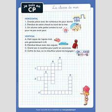 """Mots Croisés """"la Classe De Mer"""" • Je Suis En Cp  Le Blog De Magdalena Et Flammarion Jeunesse"""