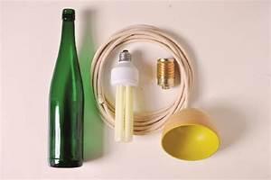 Lampe Dimmbar Machen : designer lampe aus einer flasche selber machen ~ Markanthonyermac.com Haus und Dekorationen