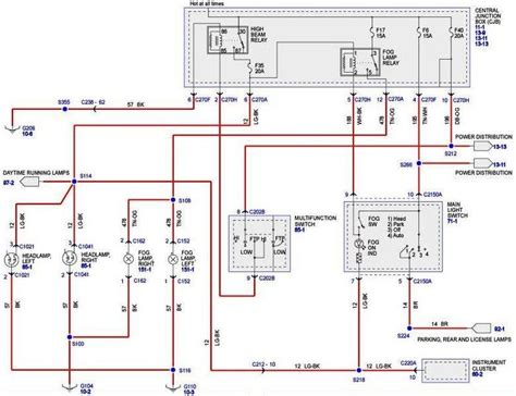 2006 F150 Wiring Diagram by Fog Light Circuit F150online Forums