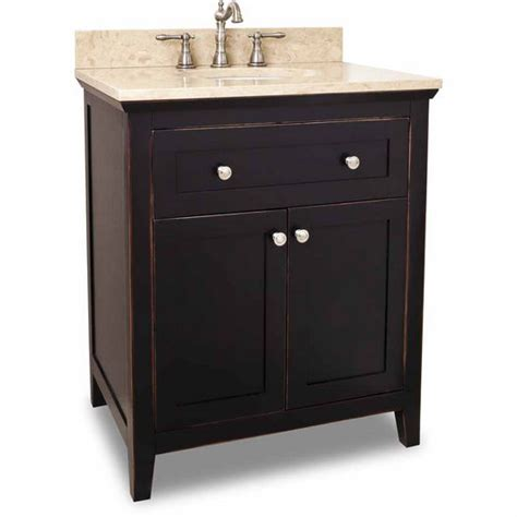 30 Inch Bathroom Vanity Without Top by 30 Inch Chatham Shaker Black Bathroom Vanity