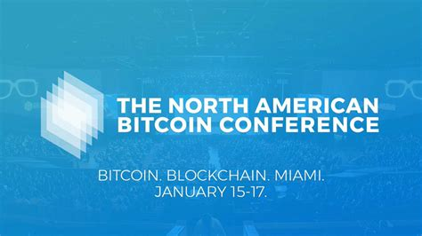 Miami bitcoin conference our decision to move bitcoin from los angeles to miami was not an easy one, but given the circumstances regarding availability in the state of california. Waltonchain WTC: The North American Bitcoin Conference in Miami, USA — Coindar