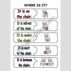 Where Is It?  Esl Worksheet By Fleur
