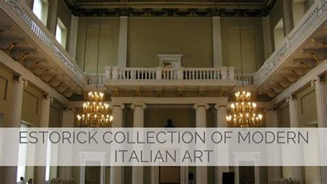 say estorick collection of modern italian like a local