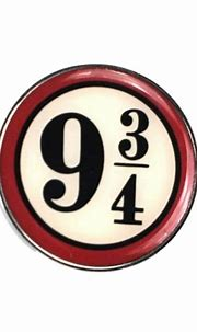 Harry Potter Platform 9 3/4 Hogwarts Pin Badge