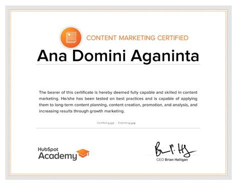 Content Marketing Certification by I Am Content Marketing Certified Dreamer Wordsmith
