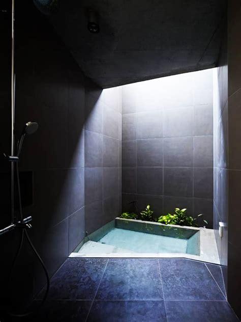 luxury bathrooms  skylights