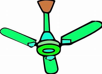 Fan Ceiling Clipart Fans Ventilator Clip Air