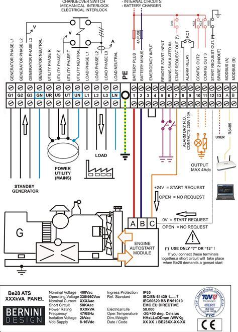 generac 50 automatic transfer switch wiring diagram