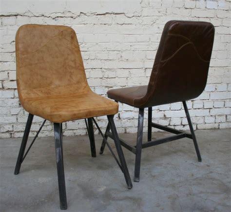 chaises style industriel chaise c 39 cu008 giani desmet meubles indus bois métal et