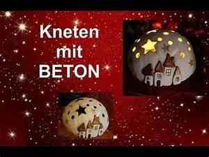 Basteln Mit Knetbeton : diy ein sch nes geschenk zu weihnachten aus beton zum ~ Lizthompson.info Haus und Dekorationen