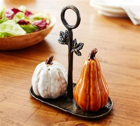 Gourd Salt & Pepper Shakers   Pottery Barn