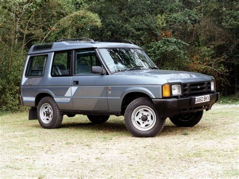 Land Rover Discovery history