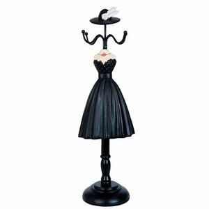 porte bijoux mannequin robe noire With porte bijoux femme