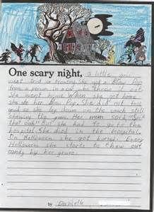 Scary Stories Writing Paper