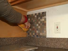 how to install a backsplash in the kitchen installing glass wall tile kitchen backsplash best home decoration class