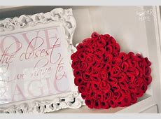 How to make roses with felt becoration