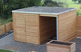 gartenhaus mit holzunterstand carport gartenhaus kubus flex terrassendach kubus flex gartenhaus gartenholz