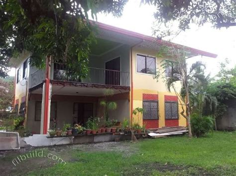 real estate davao   storey house  huge lot  sale
