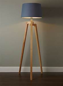 coby wooden tripod floor lamp twmmh lighting With floor lamp wooden legs