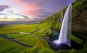 Beautiful, Waterfall, Nature, Wallpaper