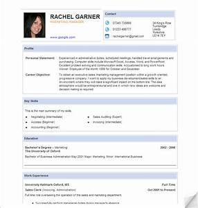 curriculum vitae template free download south africa free With cv free download