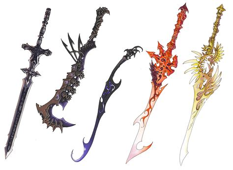 Weapon And Armor Design Contest!! By Chi-u On