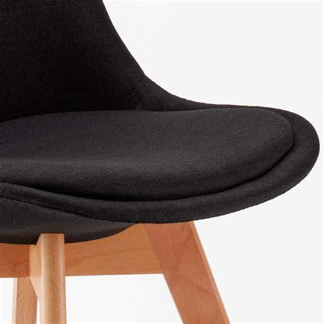 Stock Cuscini Stock 20 Sedie Con Cuscino Tessuto Design Scandinavo Tulip